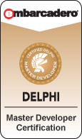 Delphi Certified Master Developer