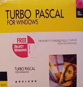 Turbo Pascal for Windows 1.0
