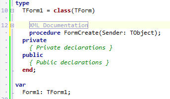 Documentation Insight IDE 2