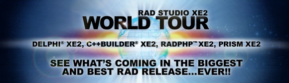 RAD Studio XE2 World Tour