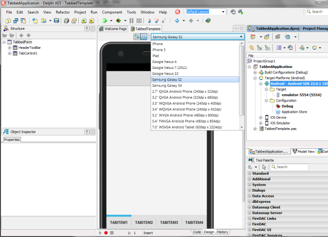 Delphi XE5 Android